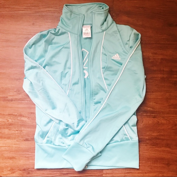 Mint Green Adidas Track Jacket Great condition and color